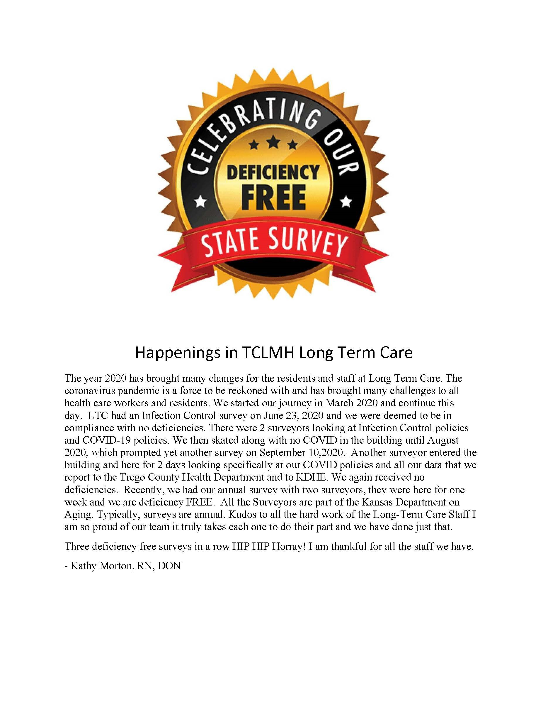 LTC Deficient Free