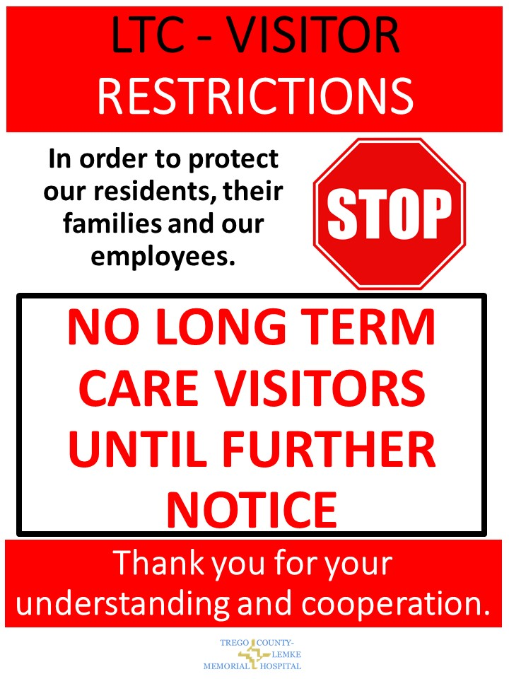 Visitor Restrictions   LTC Coronavirus